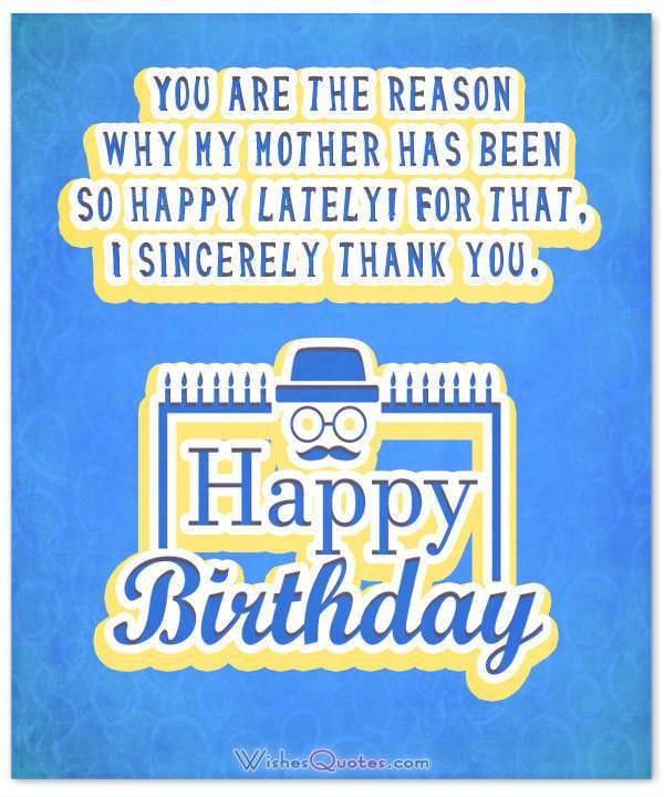 Happy Birthday, dear Stepdad!
