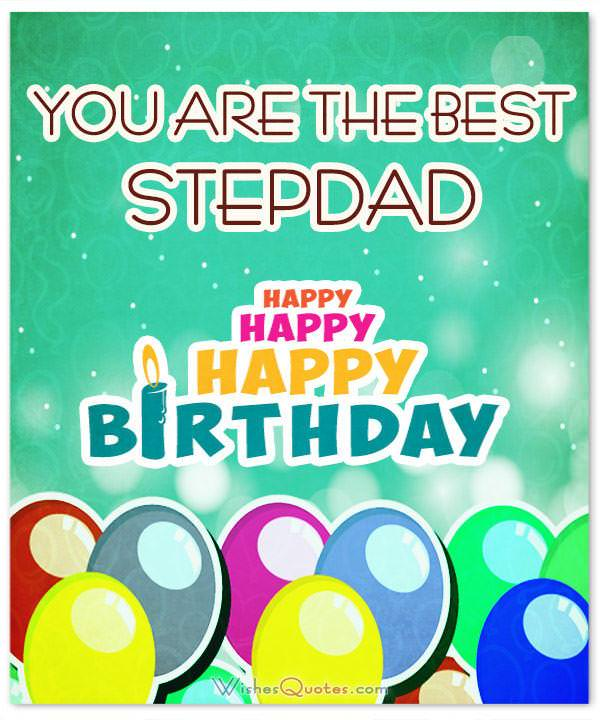 To The World's Best Stepdad