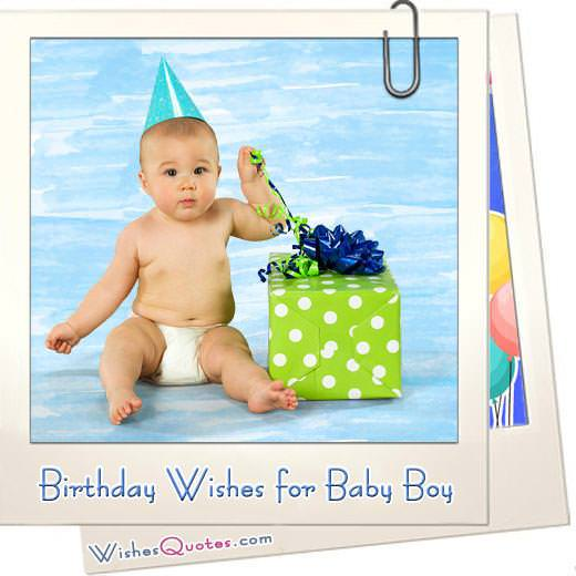 Wonderful Birthday Wishes for a Baby Boy. Happy Birthday, Little Boy!