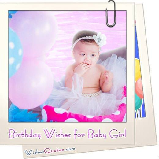 Birthday wishes baby girl featured