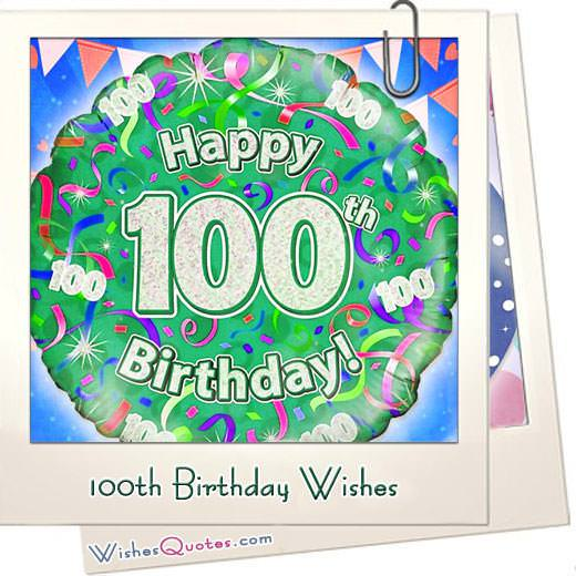 100th Birthday Messages Featured