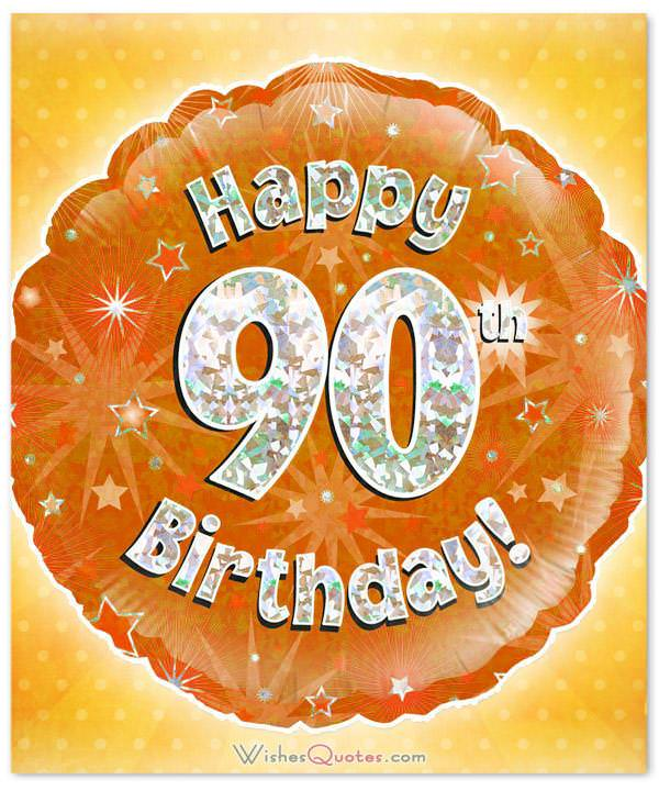 Greetings And ECards Happy 90 Birthday