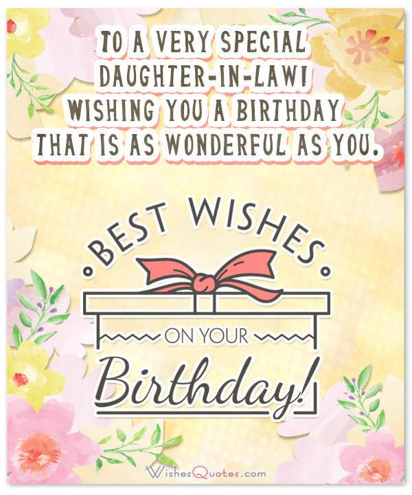 Birthday wishes for daughter in law from the heart m4hsunfo