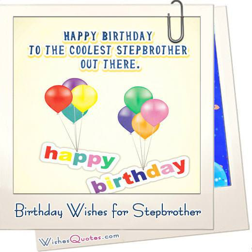 Birthday Wishes For Stepbrother Featured