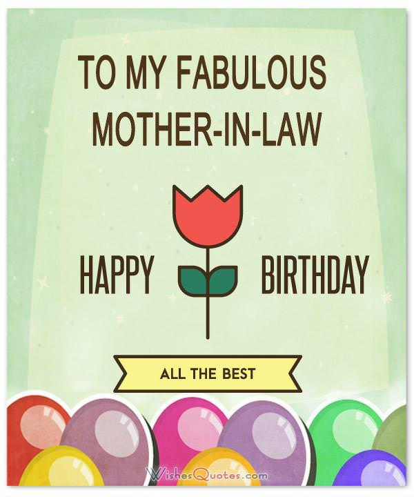 Mother in law birthday wishes messages and cards wishesquotes happy birthday mother in law m4hsunfo