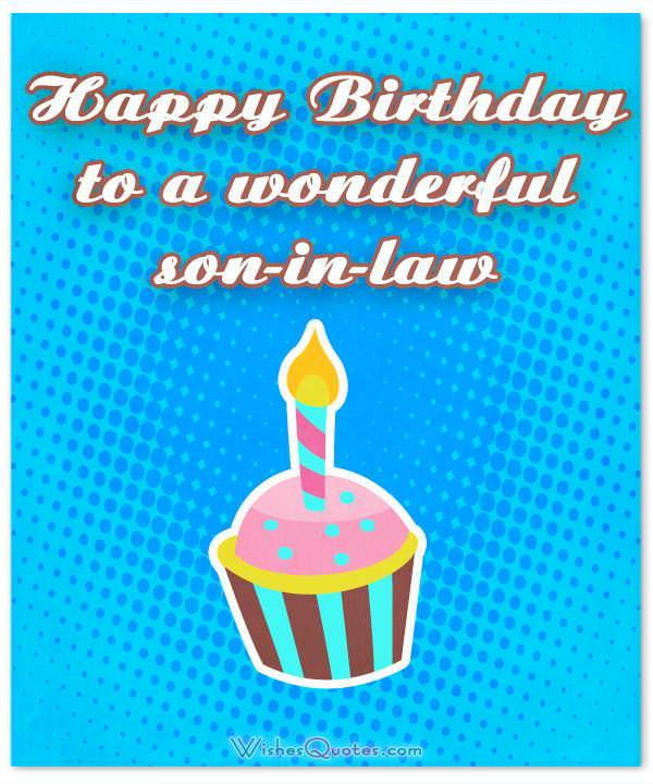 Son In Law Birthday Wishes Messages And Cards Wishesquotes