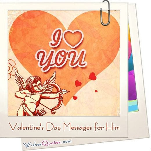 Valentine Day Messages For Him Featured