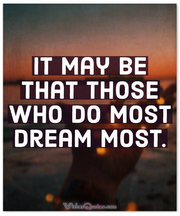 Do Most Dream Most