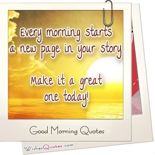Good Morning Quotes Featured