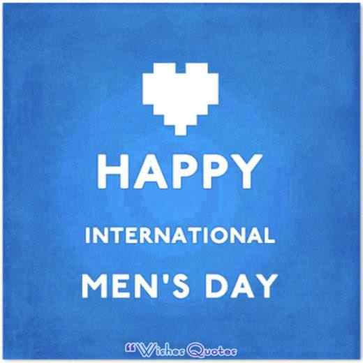 Happy International Men's Day
