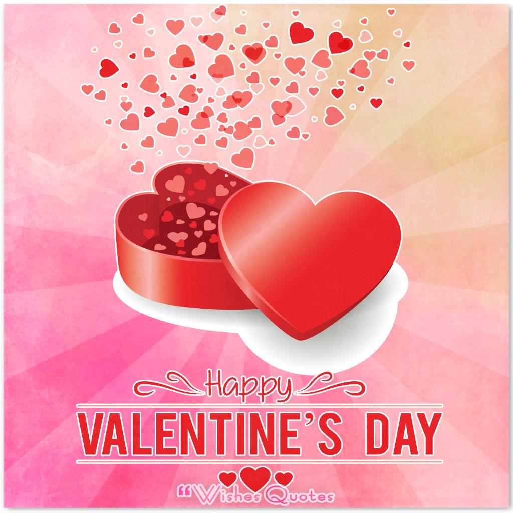 Valentines message to girlfriend