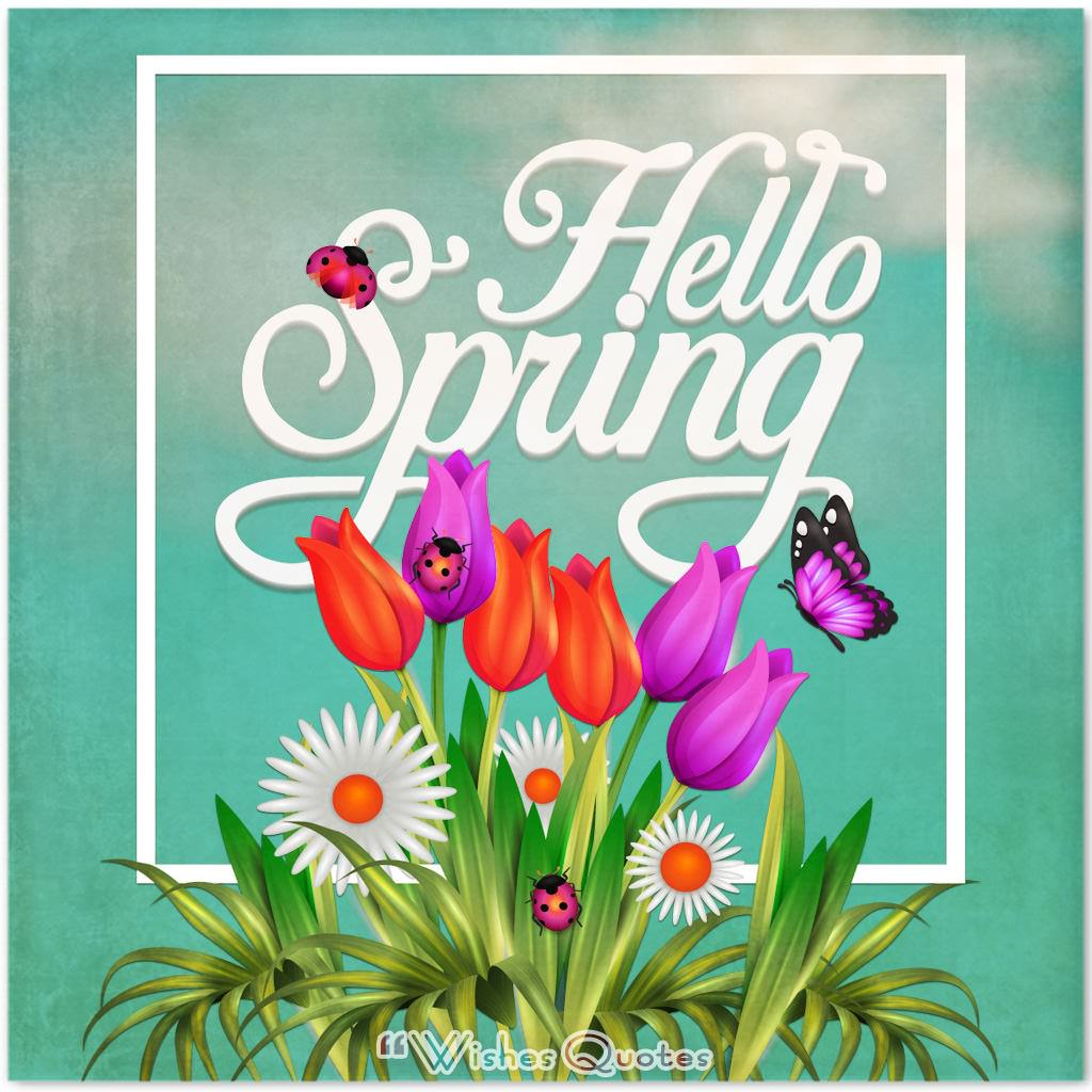 Uplifting Spring Quotes And Sayings To Welcome The Season