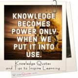 Knowledge Quotes and Tips to Inspire Learning