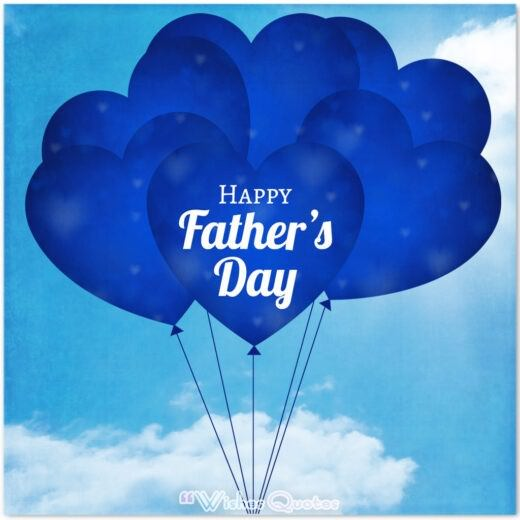 Fathers Day Message Balloons