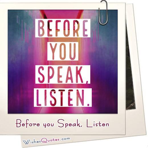 Before You Speak Listen Featured