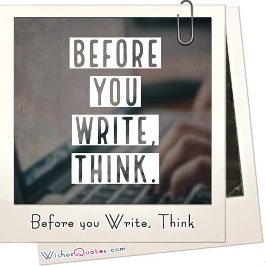 Before You Write Think Featured