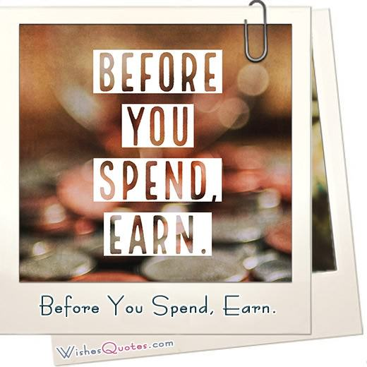Before You Spend Earn Featured