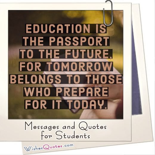 Motivating Messages And Inspirational Quotes For Students And Grads