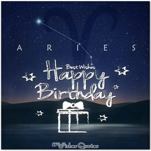 Aries Birthday Wishes