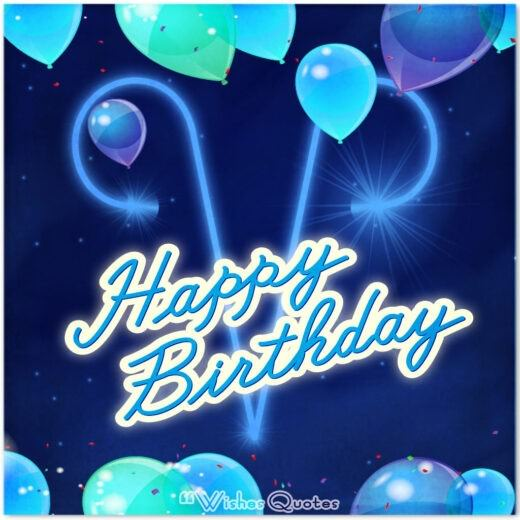 Aries Birthday Wishes And Messages