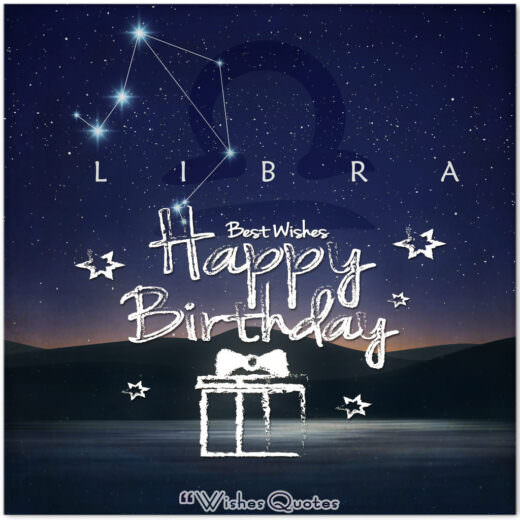 Libra Birthday Wishes - Birthday Wishes By Zodiac Sign