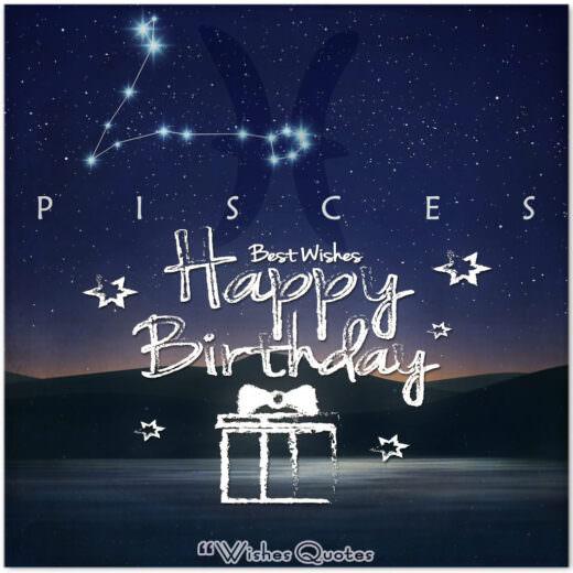 Happy Birthday Pisces