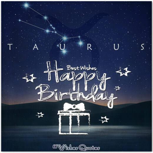 Taurus Birthday Wishes