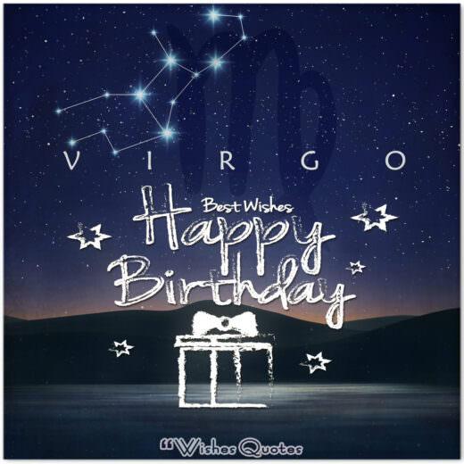 Virgo Birthday Wishes - Birthday Wishes By Zodiac Sign