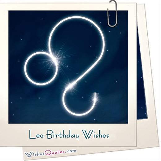 Leo Birthday Wishes And Messages