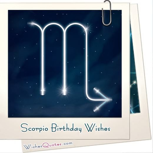 Scorpio Birthday Wishes And Messages