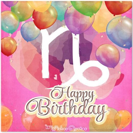 Capricorn Birthday Wishes And Messages