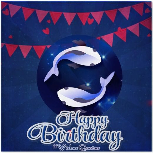 Pisces Birthday Wishes And Messages