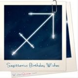 Sagittarius Birthday Wishes And Messages